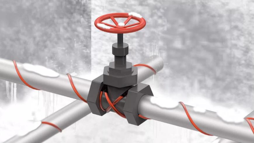 Нагревательный кабель для труб и трубопровода